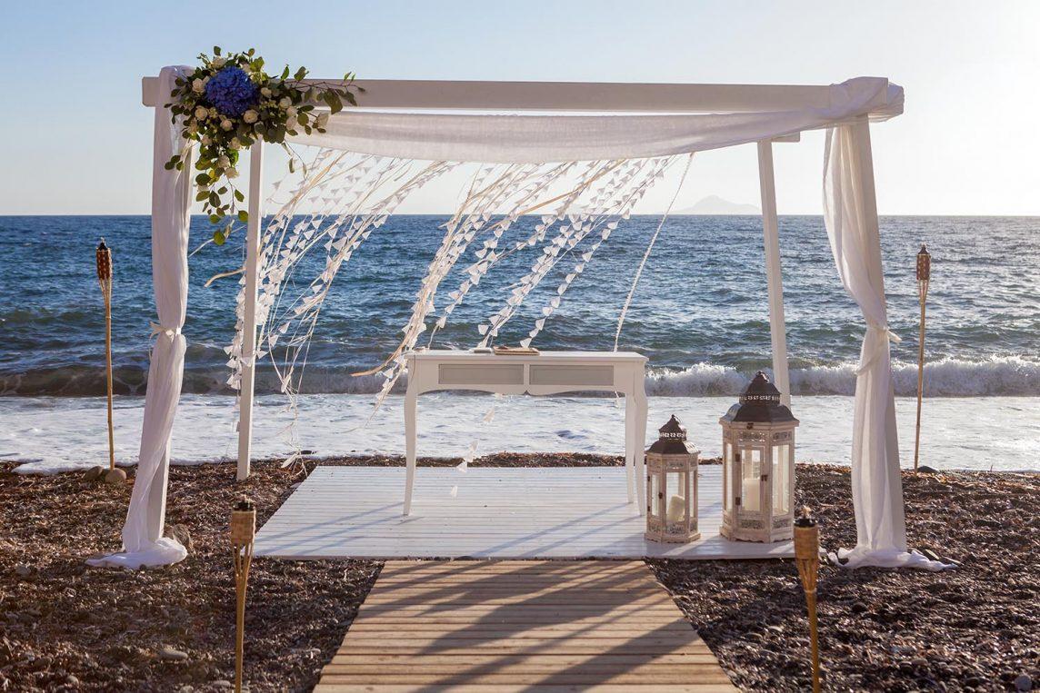 Cea mai frumoasă nuntă în aer liber: nunta pe plajă