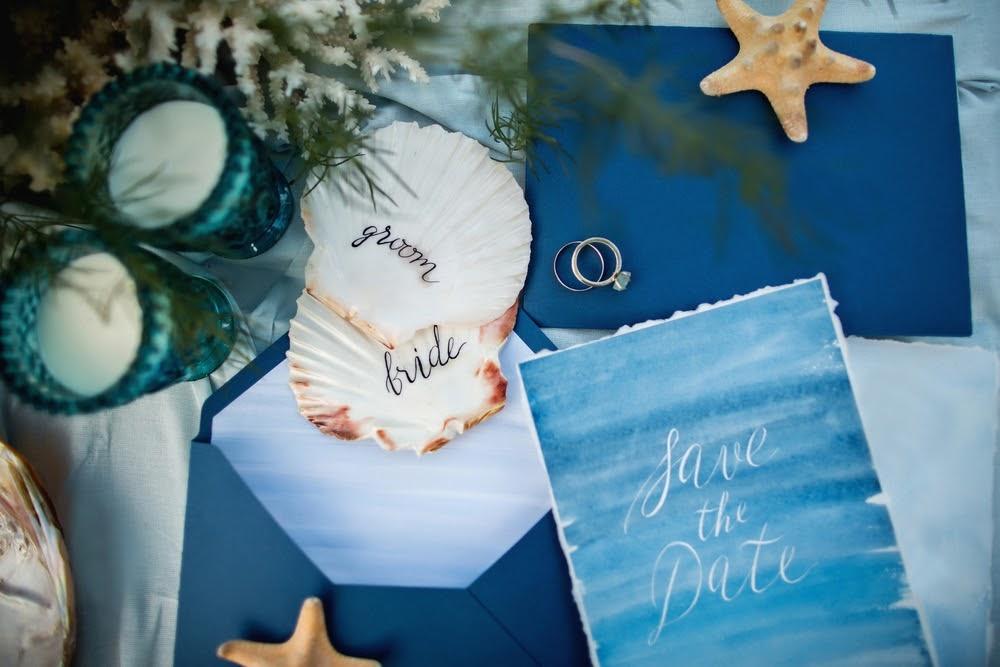 Invitatii de nunta perfecte - Nunta pe Plaja 3