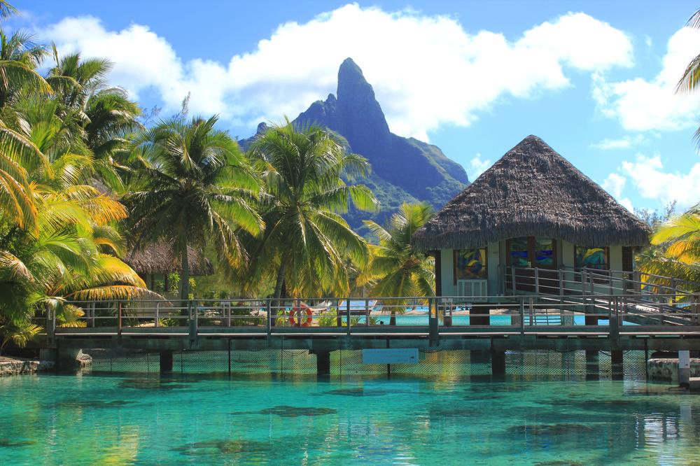 Nunta in Bora Bora pe plaja
