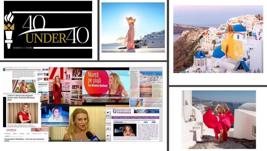 Nunta pe Plaja 40 under 40 Business Awards