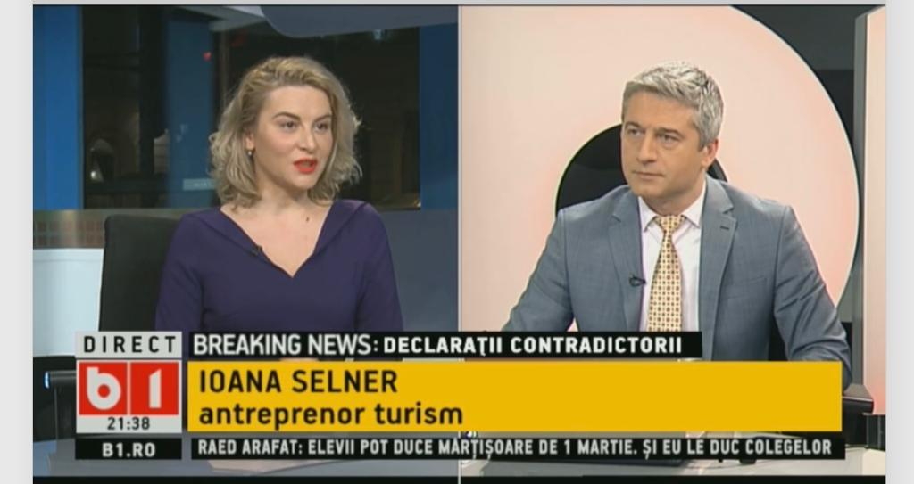 Ioana Selner B1 Tv