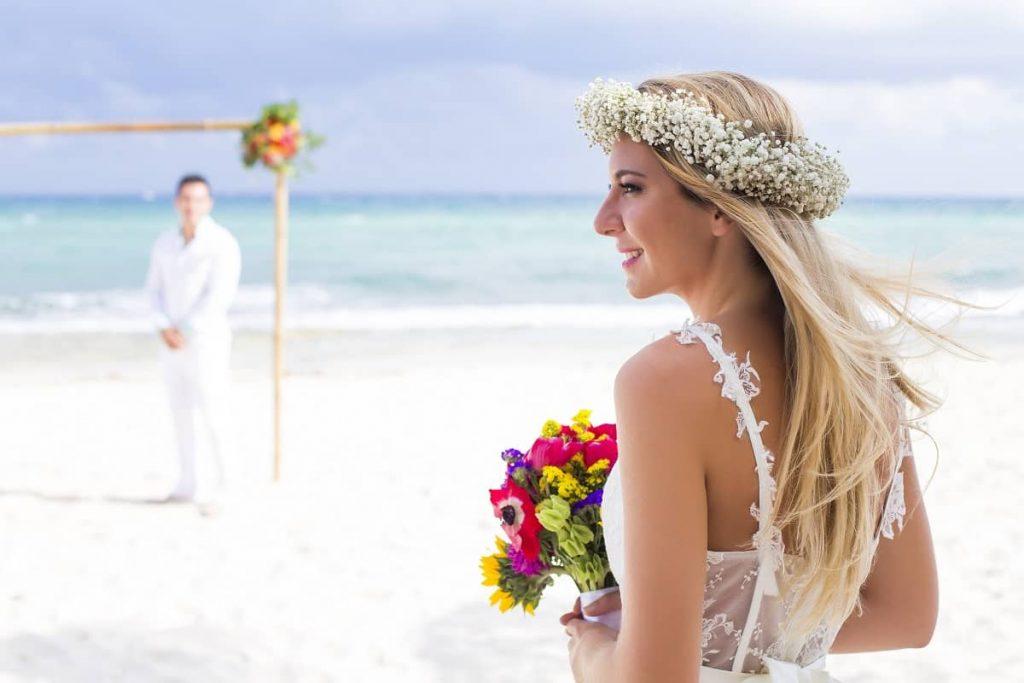 Nunta in aer liber in Mexic - nuntapeplaja.ro