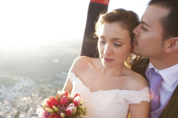 Nunta in balon cu aer cald - nuntapeplaja.ro
