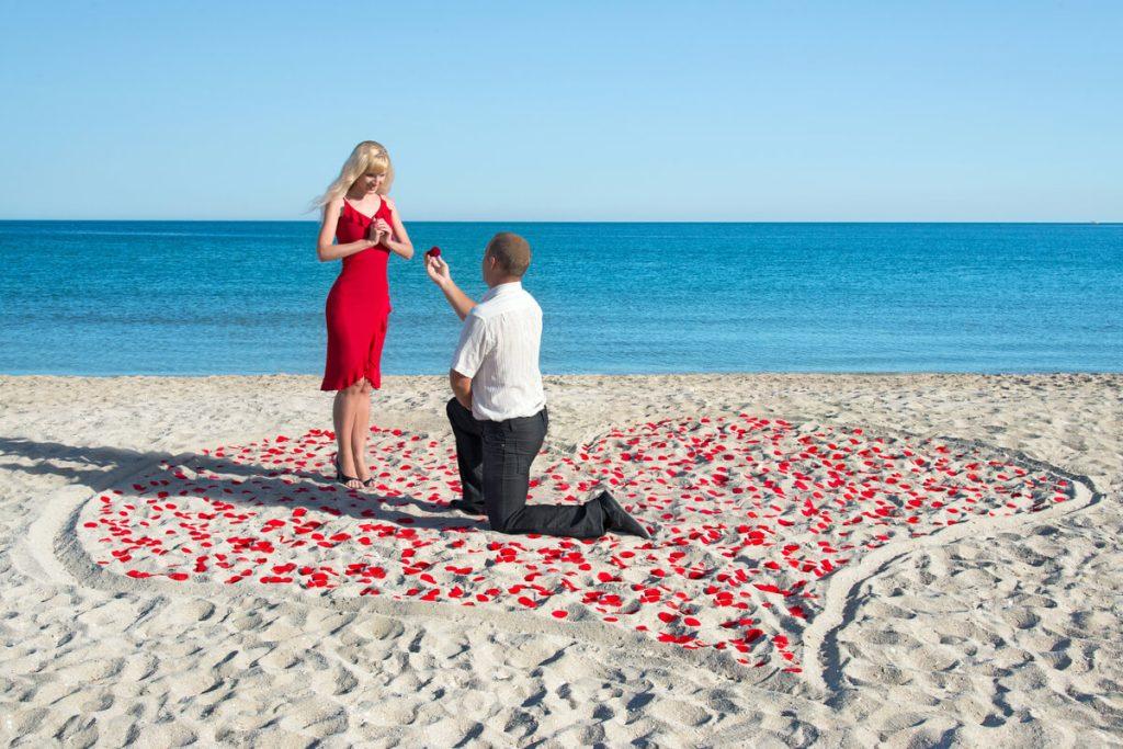 Idei de cerere in casatorie la mare - nuntapeplaja.ro