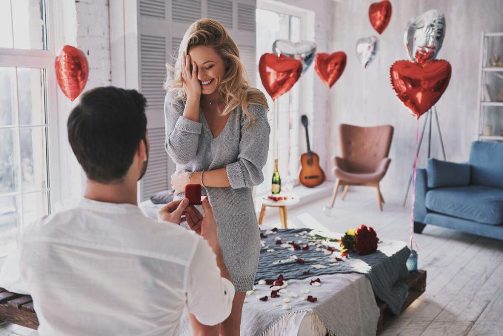Idei romantice pentru o cerere in casatorie - nuntapeplaja.ro